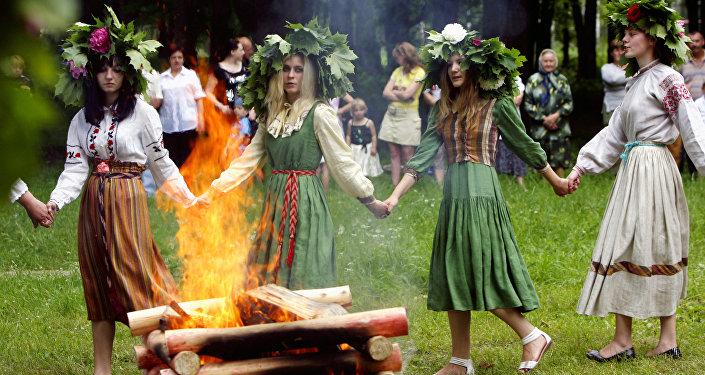 Jorovod, danza tradicional rusa