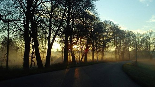 Camino entre Klómino y Michalowo