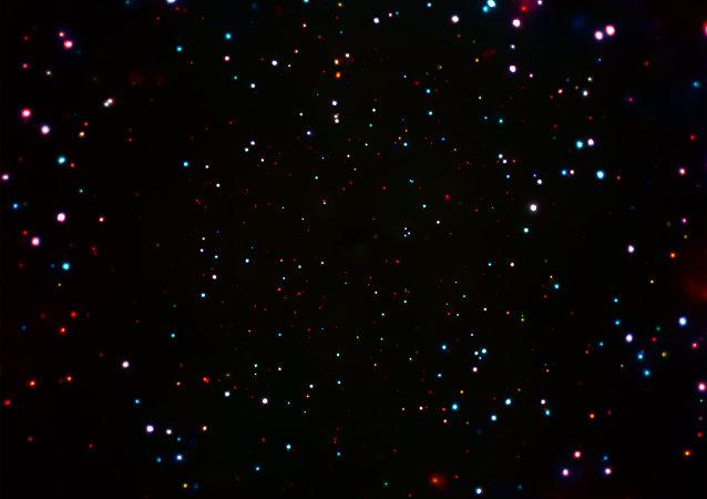 NASA captura increíble imagen de miles de agujeros negros