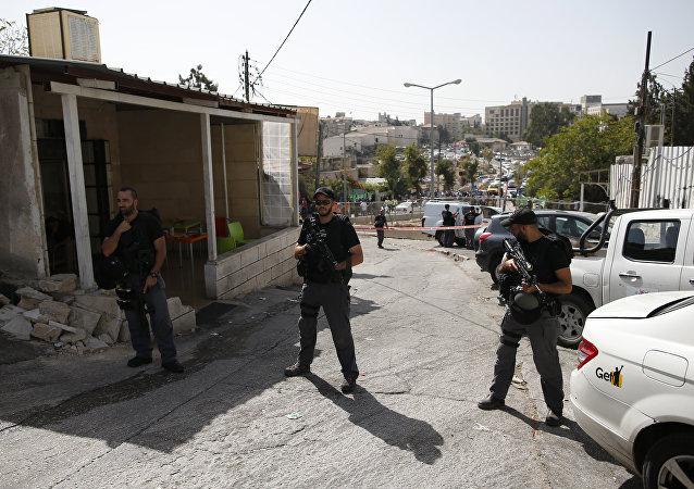 Aparece un video del momento exacto del ataque terrorista en Jerusalén