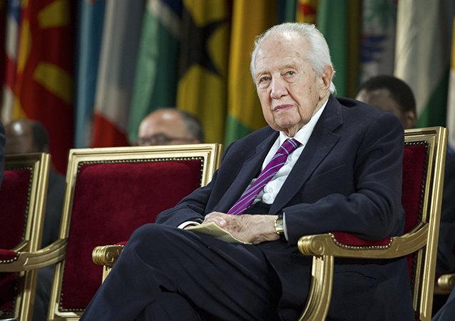 Expresidente portugués Mario Soares