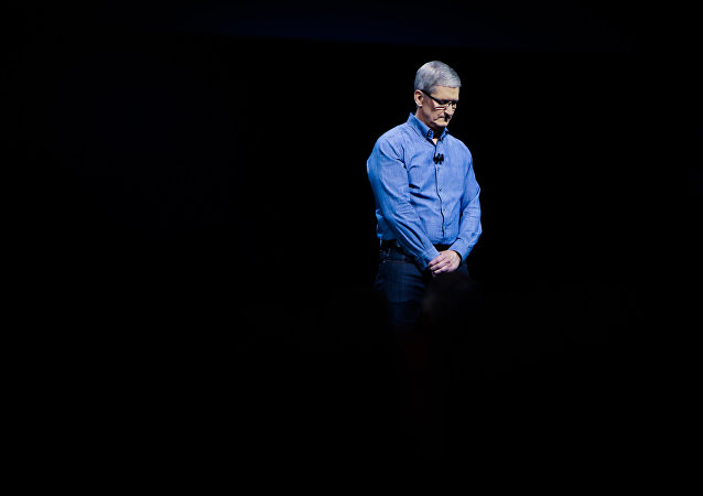 Tim Cook, presidente ejecutivo de Apple (archivo)
