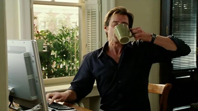 Jim Carrey protagoniza a Bruce Nolan en la película 'Bruce Almighty'