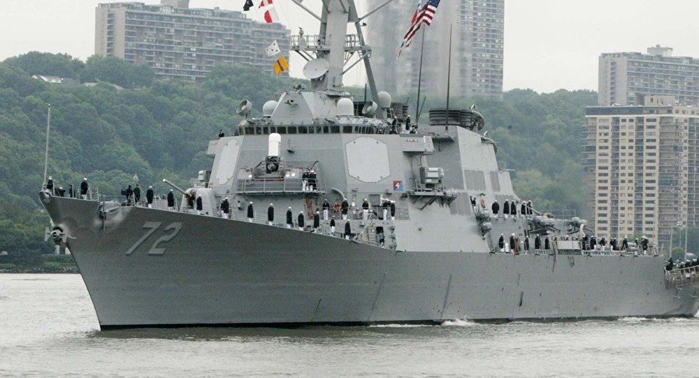 USS Mahan de la Armada estadounidense (archivo)
