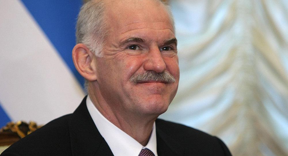 El primer ministro de Grecia, Yorgos Papandreu