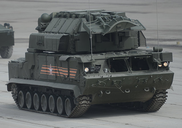 Tor-M2U, sistema de misiles antiaéreos táctico