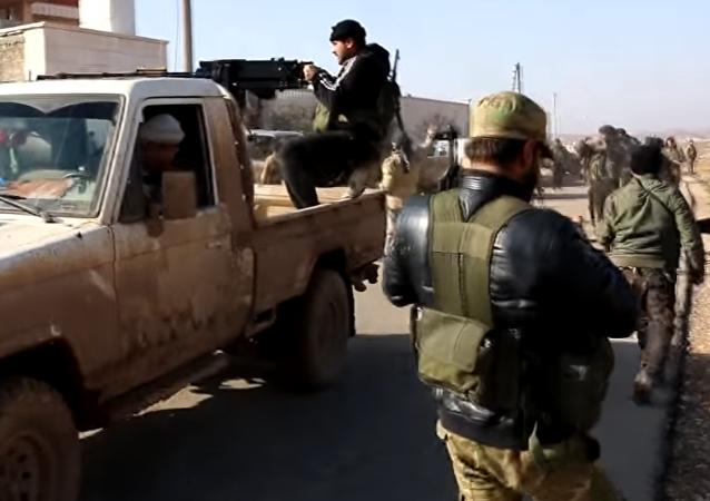 Vídeo: armas turcas para los rebeldes sirios