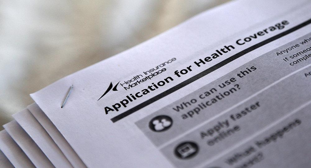 Formularios para solicitar la cobertura de salud (´Obamacare´)