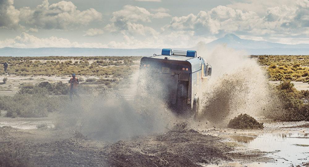 Kamaz-master durante el Dakar Rally 2017