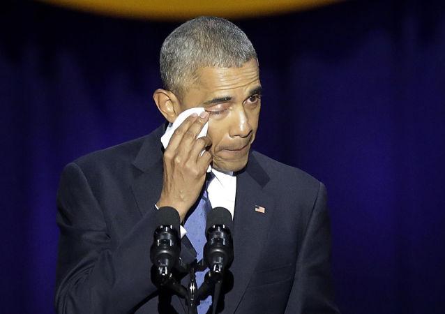 El adiós de Obama: abrazos y lágrimas durante el último discurso del presidente de EEUU