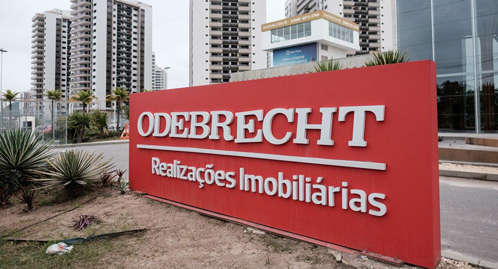 Logo de la empresa Odebrecht (archivo)
