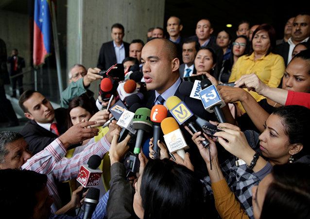 Héctor Rodríguez, diputado del partido PSUV