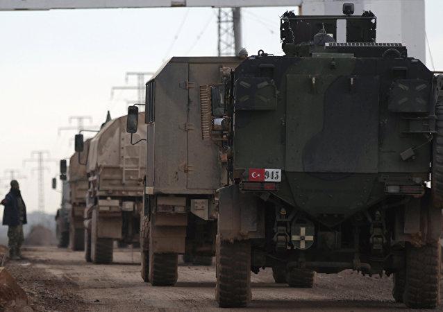 Las Fuerzas turcas en Siria (archivo)