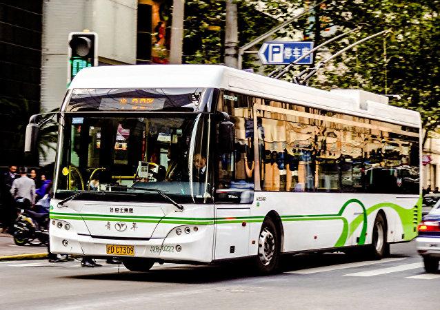 Un autobús chino