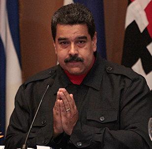 Nicolás Maduro, presidente de Venezuela (archivo)