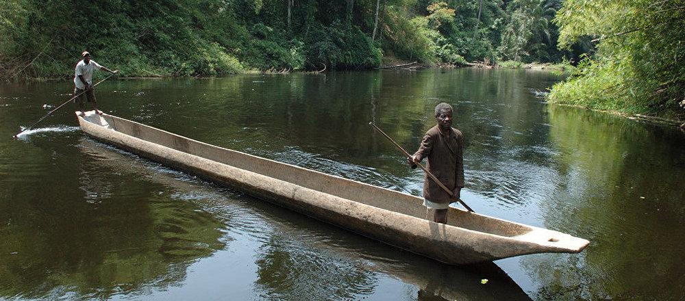 El río Congo