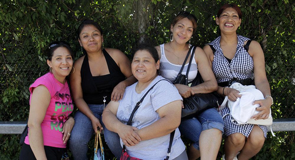 Migrantes mexicanas en EEUU (archivo)