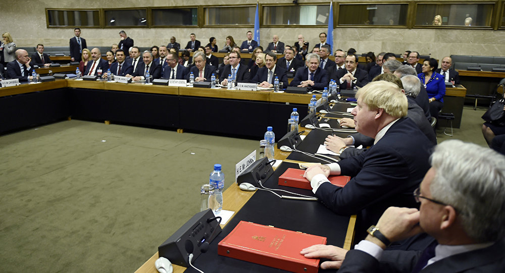 Conferencia sobre Chipre en Ginebra