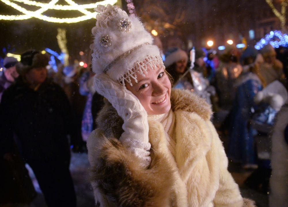 Las Nievecillas toman las calles de Moscú