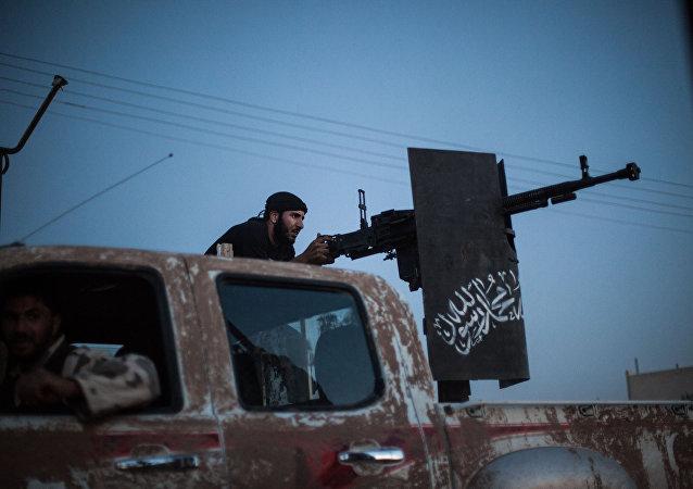 Combatientes del grupo Ahrar al Sham (archivo)