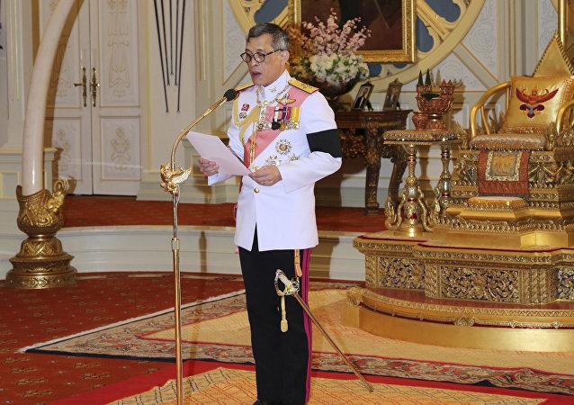 Maha Vajiralongkorn, rey de Tailandia