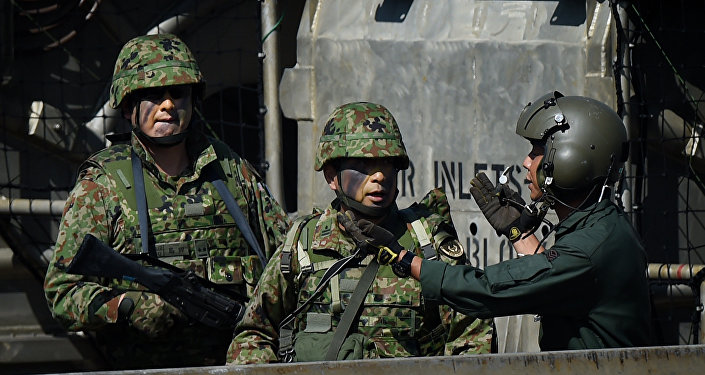 Militares japoneses (imagen referencial)