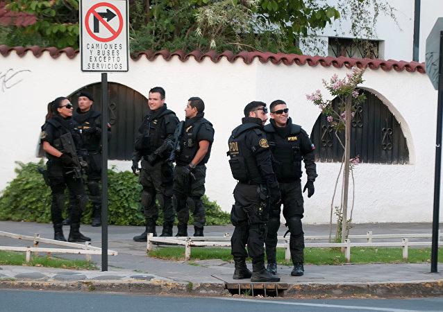 Policía chilena (archivo)
