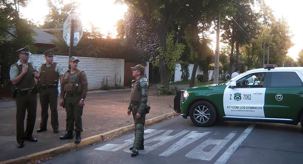 Lugar del atentado a Óscar Landerretche