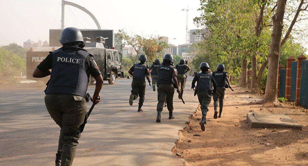 Police disrupt
