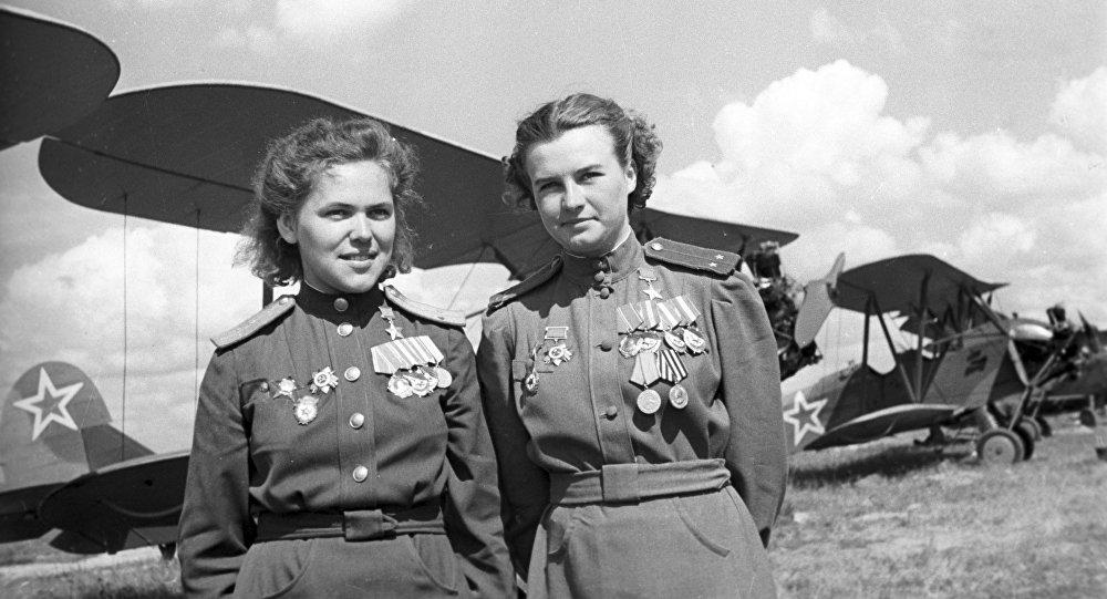 """""""Brujas de la noche"""": Las guerreras soviéticas que hicieron temblar a Hitler 1066222021"""