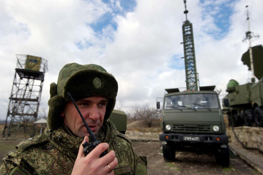Los sistemas de misiles S-400 en Crimea