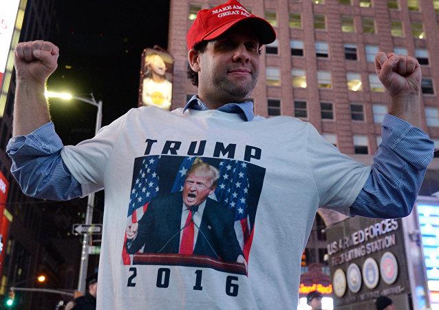 Donald Trump llega a ser presidente