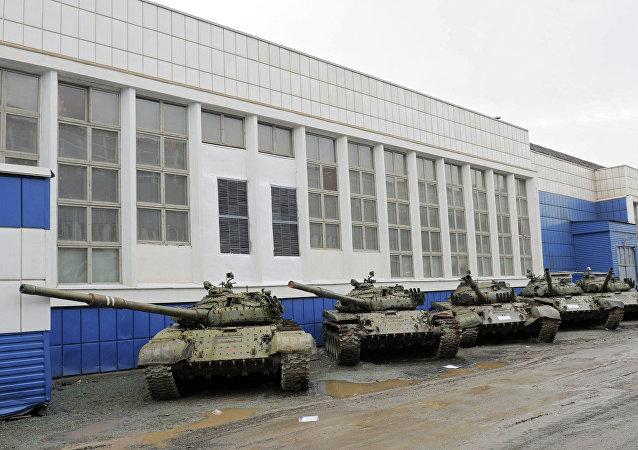 Tanques de Uralvagonzavod (archivo)