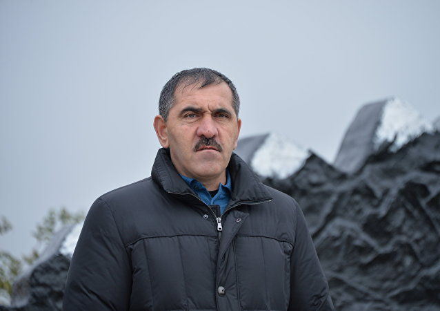 Yunus-Bek Evkúrov, presidente de la República rusa de Ingusetia