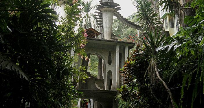 Jardín escultórico de Edward James en Xilitla