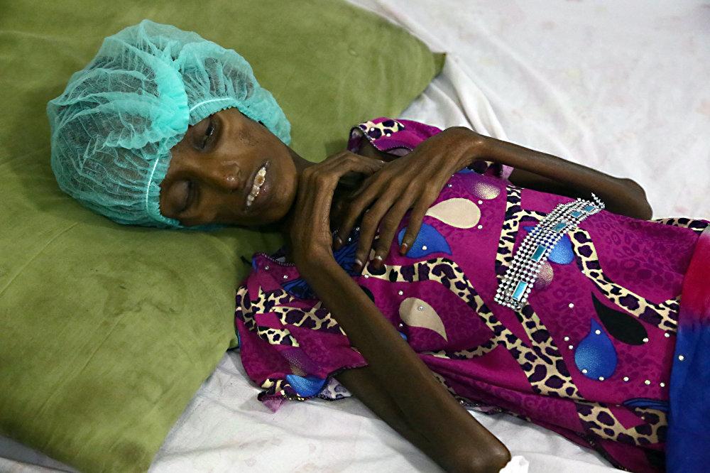 Saida Ahmad Baghili, una yemení de 18 años