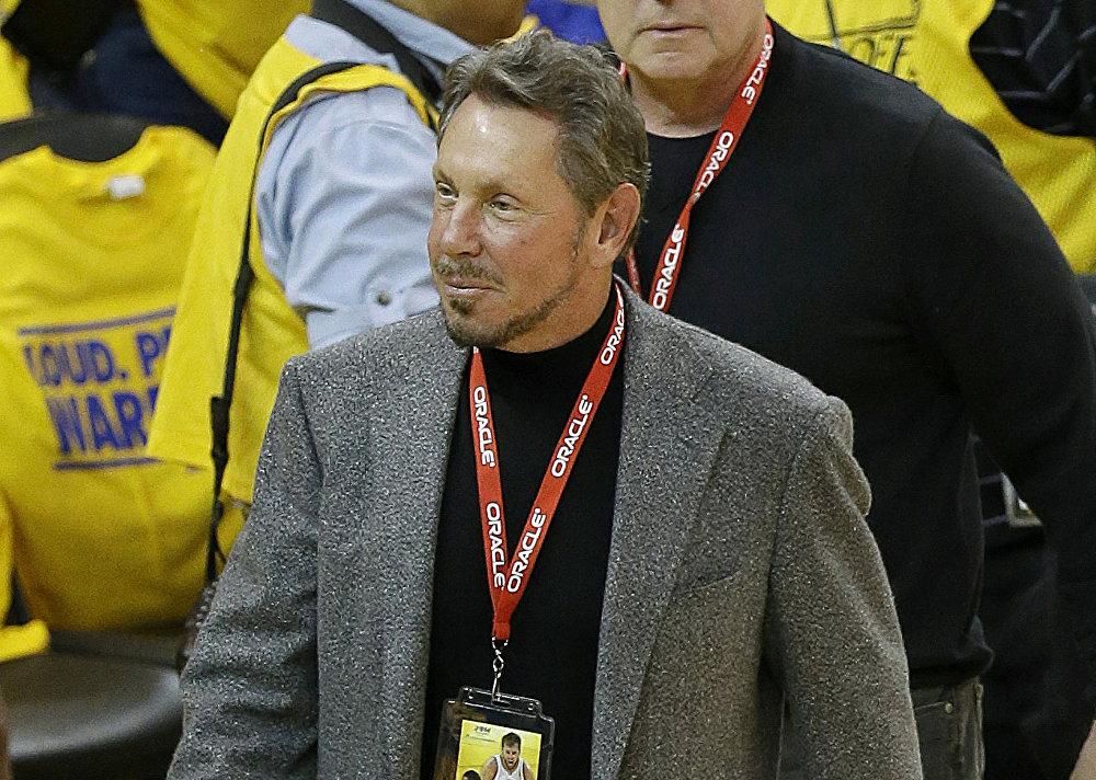 El CEO de Oracle Larry Ellison