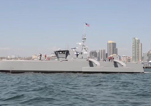 'El cazador de mares' (Sea Hunter), el cazador de submarinos de EEUU