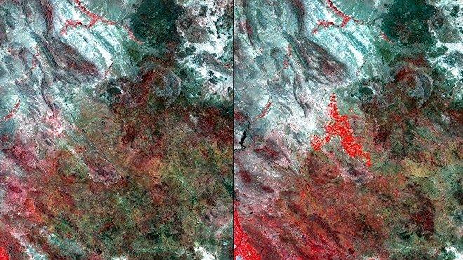 Impacto de riego en Chihuahua, México