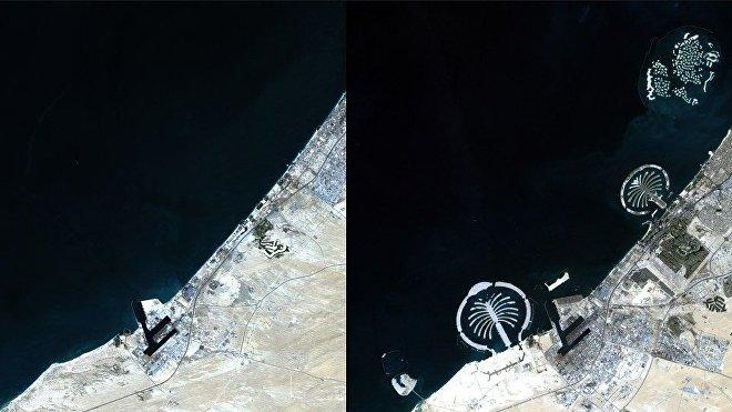 Islas artificiales de Dubái, Emiratos Árabes Unidos
