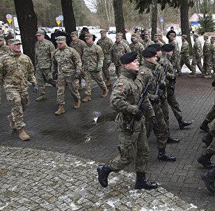 Militares estadounidenses en Polonia
