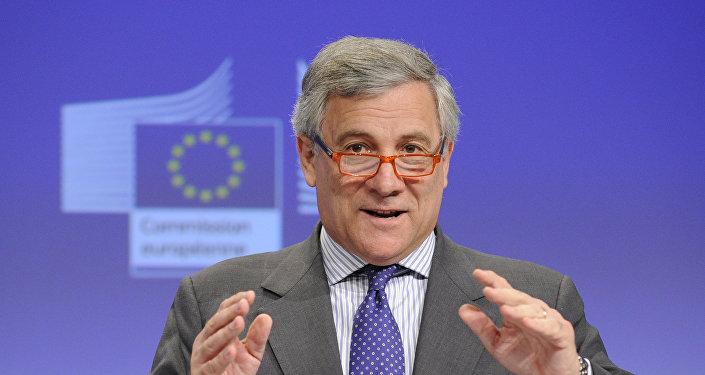 Antonio Tajani, el presidente del Parlamento Europeo (archivo)