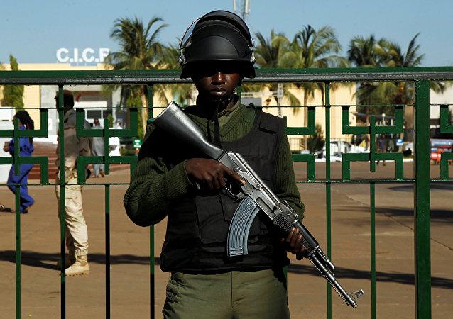 Un soldado maliense