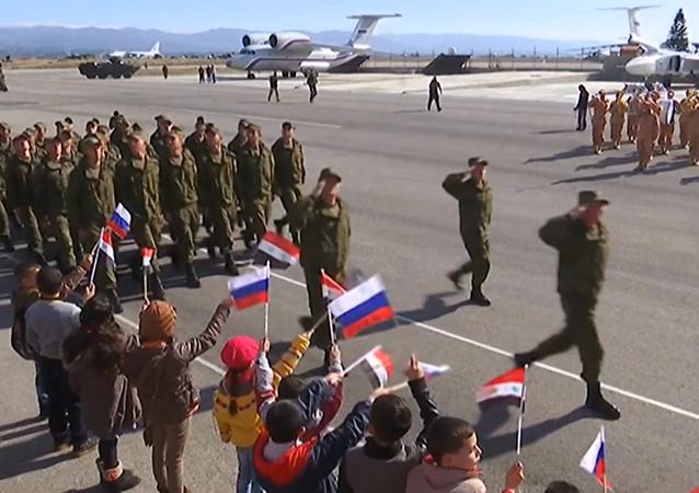 Unidad de cazas Su-24M, lista para salir de Siria