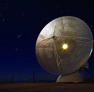 La antena del mayor radiotelescopio a nivel global ALMA