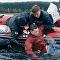 Un equipo de rescate de Bielorrusia