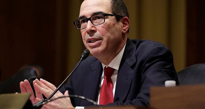 Steven Mnuchin, secretario del Tesoro de EEUU (archivo)