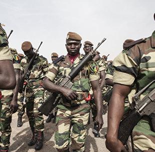 Soldados de Senegal