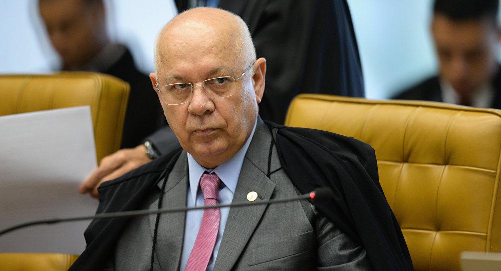 Teori Zavascki, magistrado del Tribunal Supremo Federal de Brasil