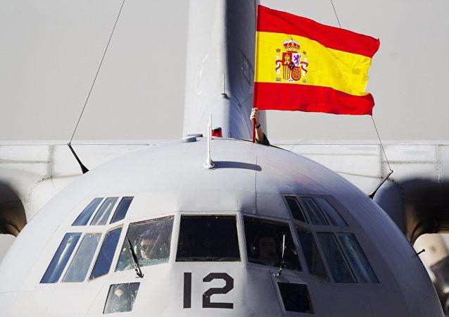 La bandera de España (archivo)